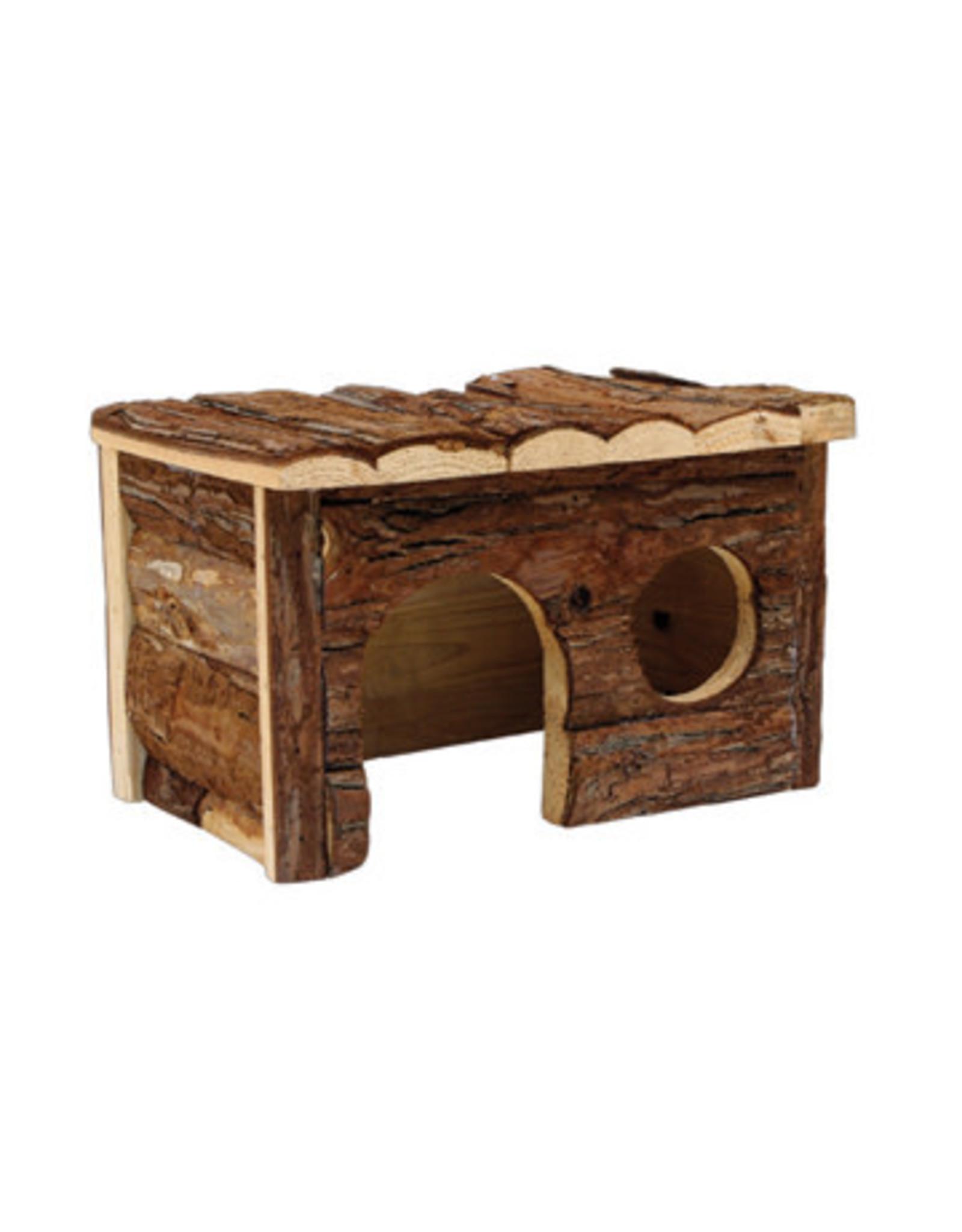 "Living World Tree House Real Wood Cabin - Medium - 28 cm (11"") L x 17.5 cm (7"") W x 17.5 cm (7"") H"