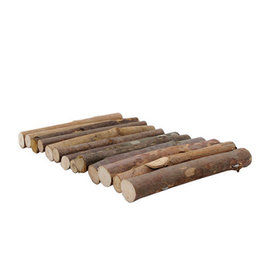 Living World Living World Tree House Real Wood Logs - Medium