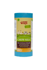Living World Colourful Cardboard Chew-nels with Nesting material - Small