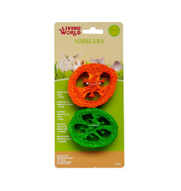 Living World Living World Nibblers Slices Loofah Chews