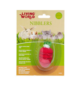 Living World Living World Nibblers - Strawberry Loofah & Wood Chew