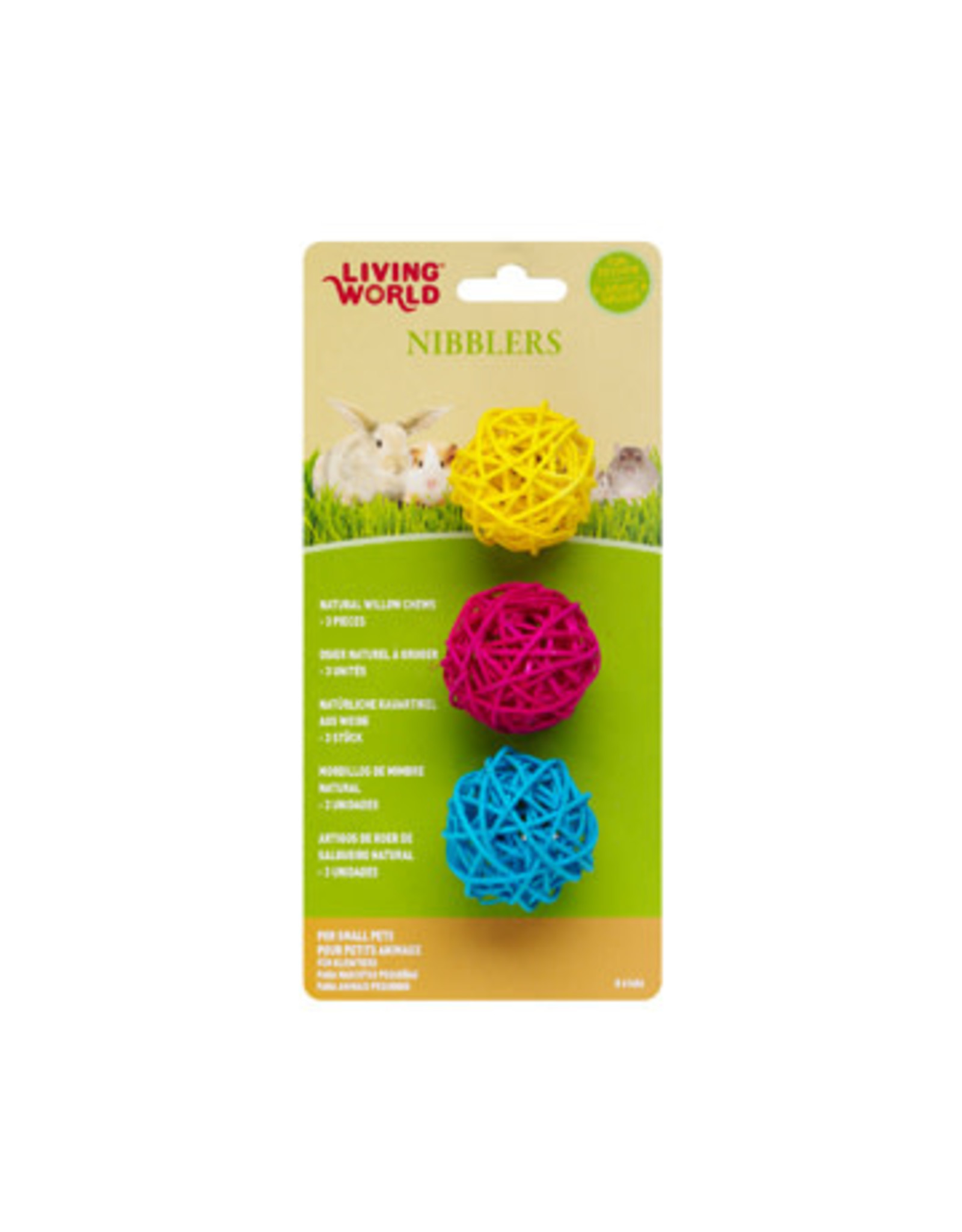 Living World Living World Nibblers Willow Chew Balls