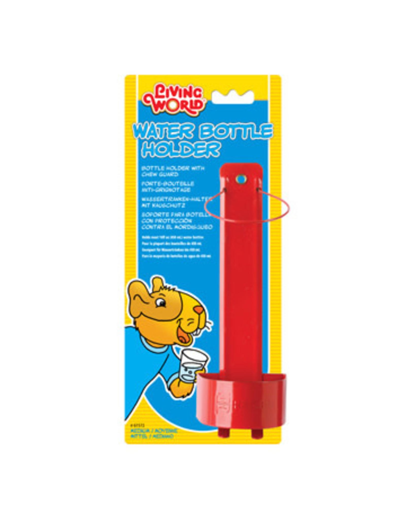 Living World Metal Water Bottle Holder - Medium - Fits 61540 - Red
