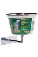 Living World Living World Stainless Steel Parrot Cup - Medium - 480 ml (16 oz)
