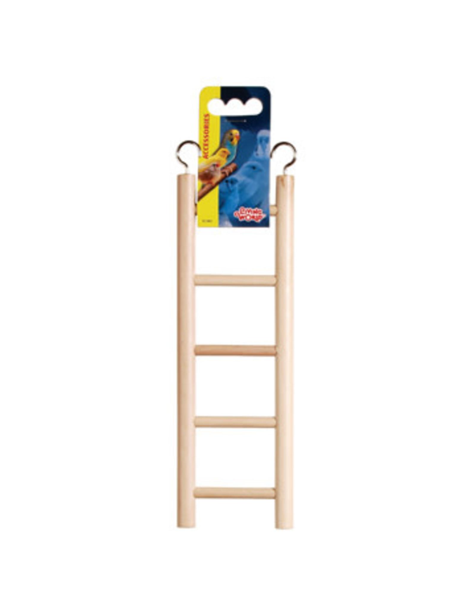 "Living World Living World Wooden Bird Ladder - 5 Steps - 25 cm (5.5"") Long"