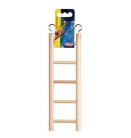 "Living World Living World Wooden Bird Ladder - 5 Steps - 25 cm (5.5"") Long"