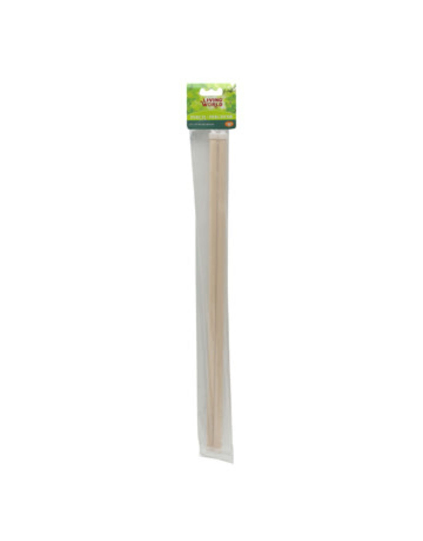 Living World Living World Wooden Perches - 48 cm (19 in) - 2 pack