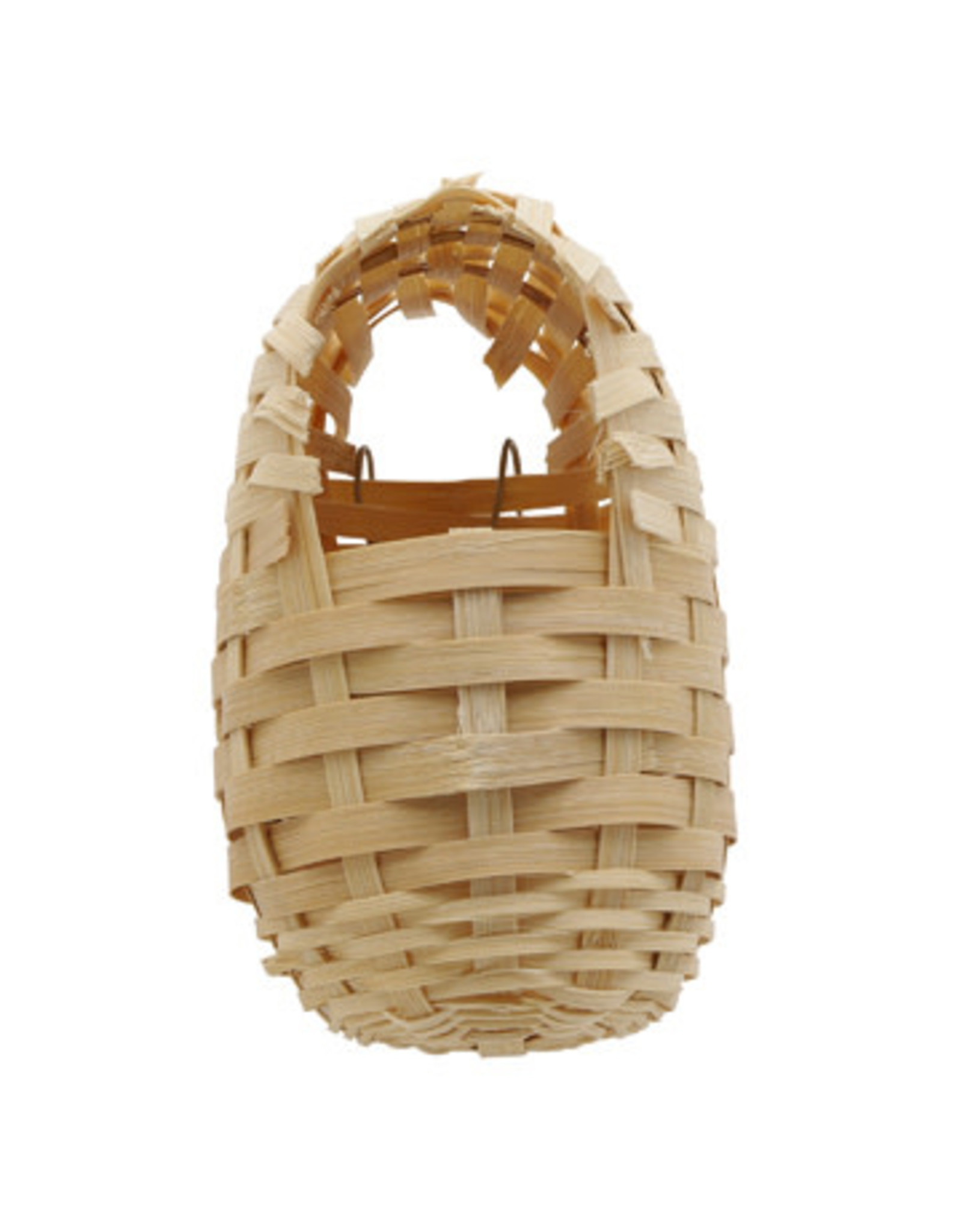 """Living World Bamboo Bird Nest for Finches - Small - 8 cm x 9 cm x 12 cm (3.1"""" x 3.5"""" x 4.7"""" in)"""