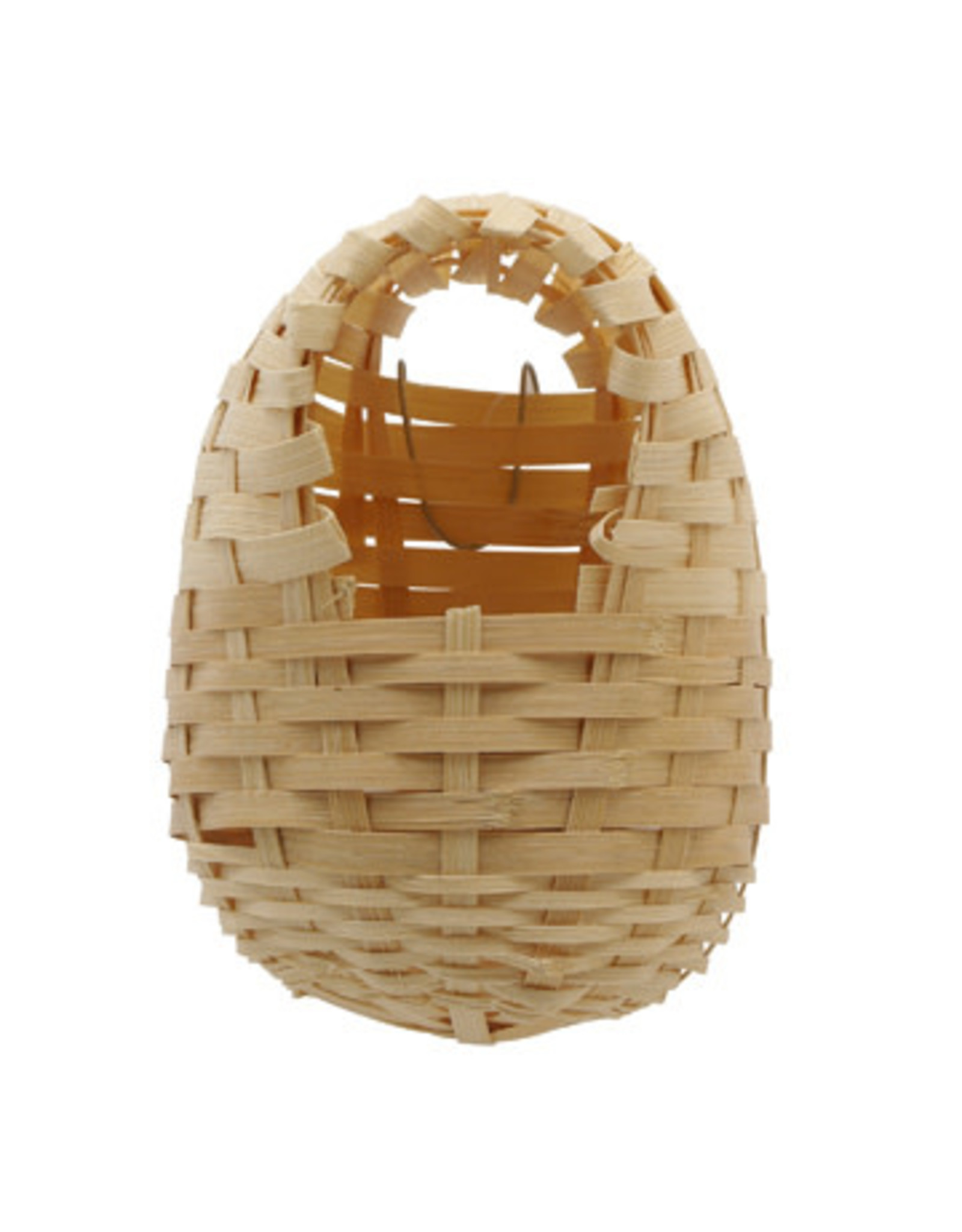 """Living World Bamboo Bird Nest for Finches - Large - 14 cm x 11 cm x 16 cm (5.5"""" x 4.3"""" x 6.25"""" in)"""