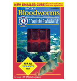 San Francisco San Francisco Bay Bloodworms Cube, 1.75 oz (50 g)