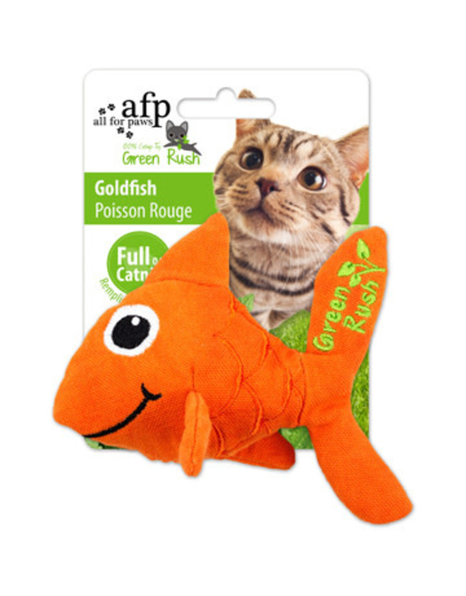 All for Paws Green Rush Goldfish