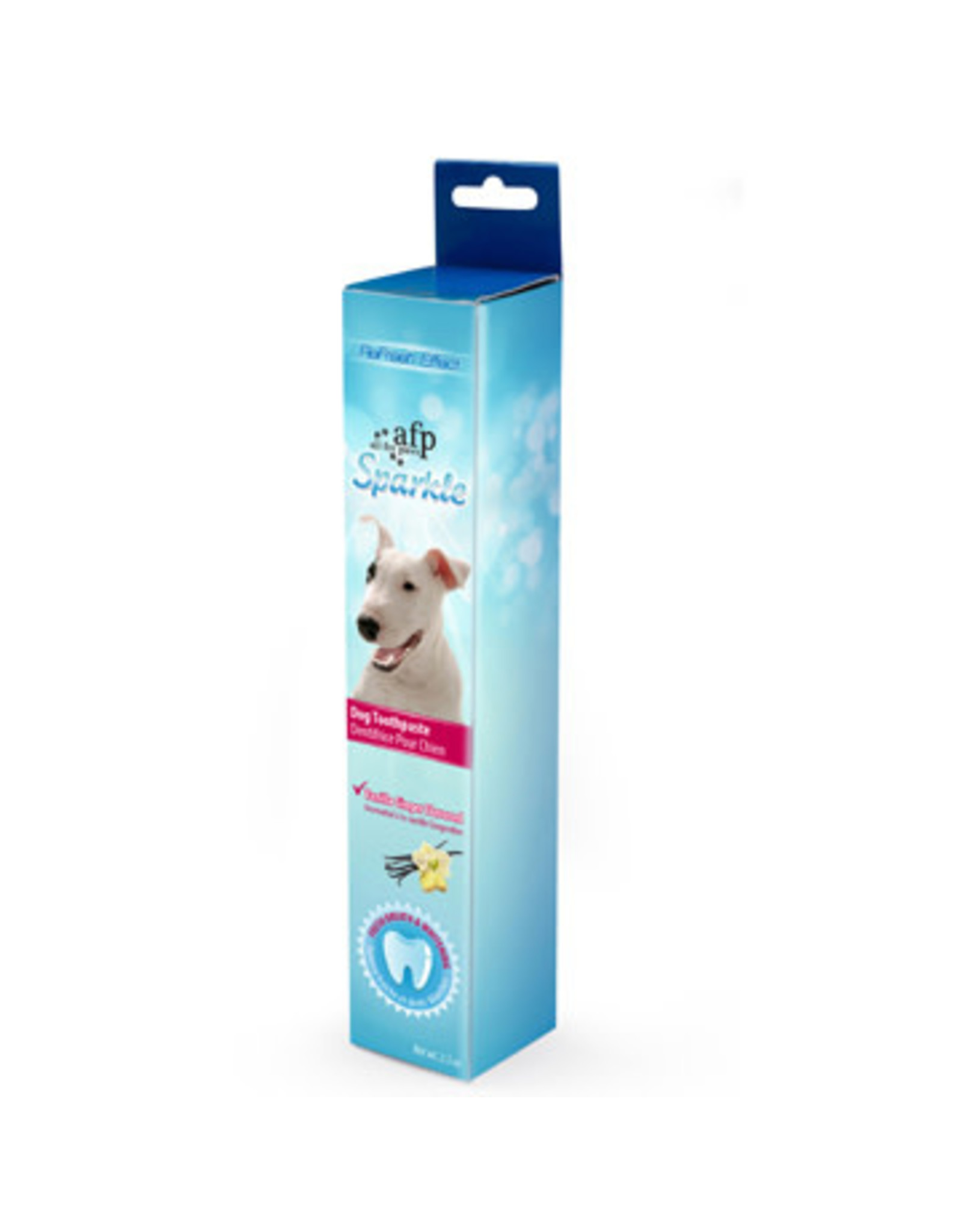 All for Paws Sparkle Toothpaste Vanilla Ginger Flavour 2.1oz