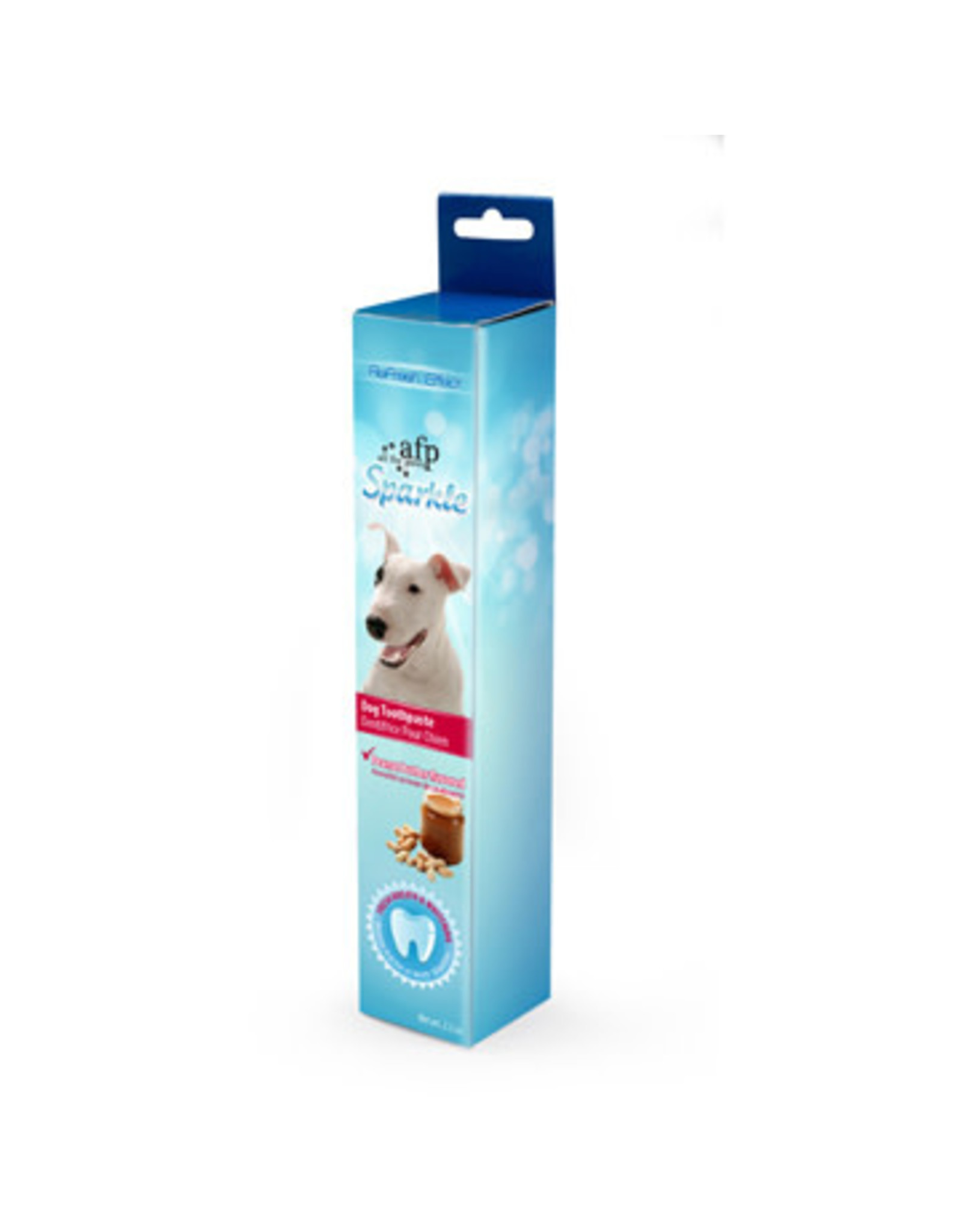 All for Paws Sparkle Toothpaste Peanut Butter Flavour 2.1oz