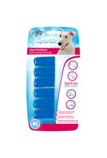 All for Paws Sparkle Finger Tooth Brush 6 Pack