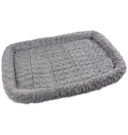 "All for Paws Bolstered Super Soft Crate Mat Small 30""x19"""