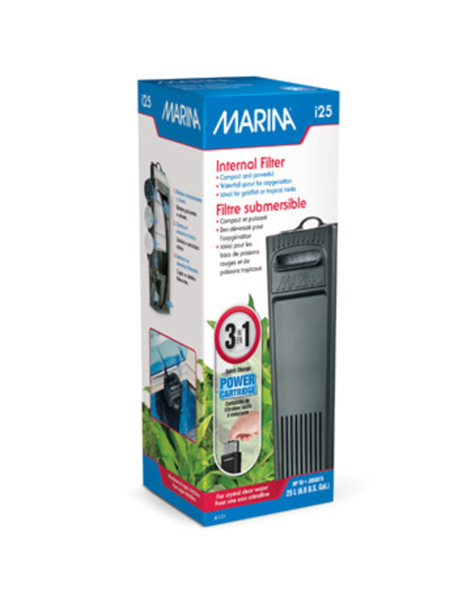 Marina Marina i25 Internal Filter - For Aquariums up to 25 L (6.6 US Gal.)