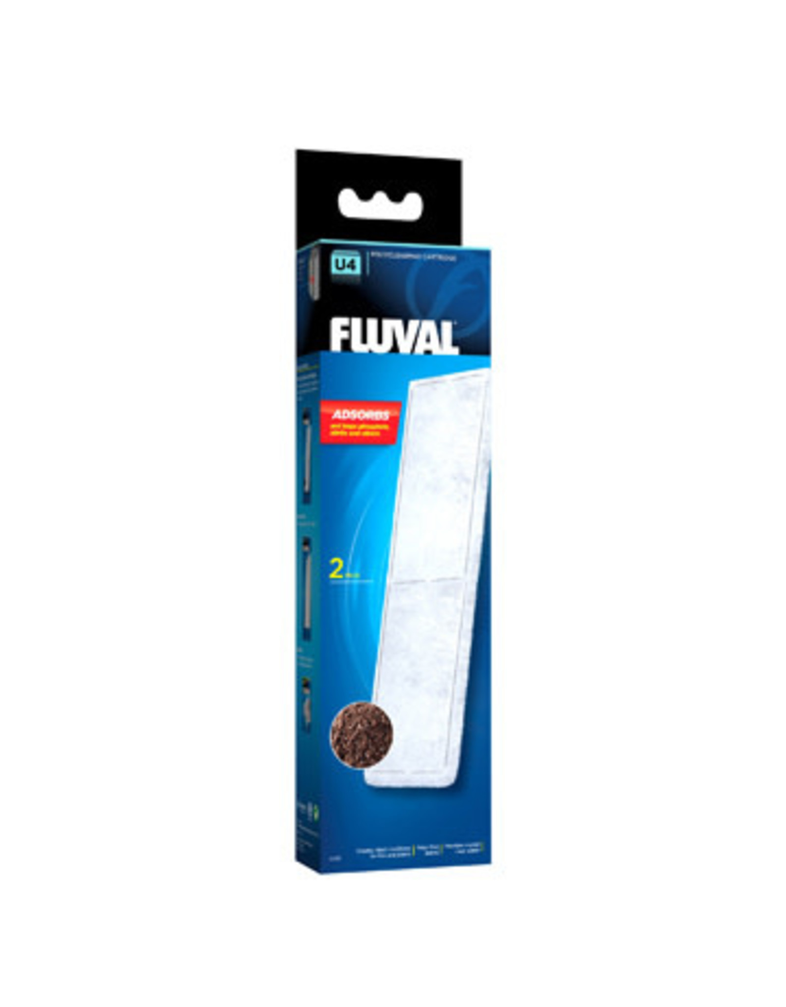 Fluval Fluval U4 Filter Media - Poly/Clearmax Cartridge - 2-pack