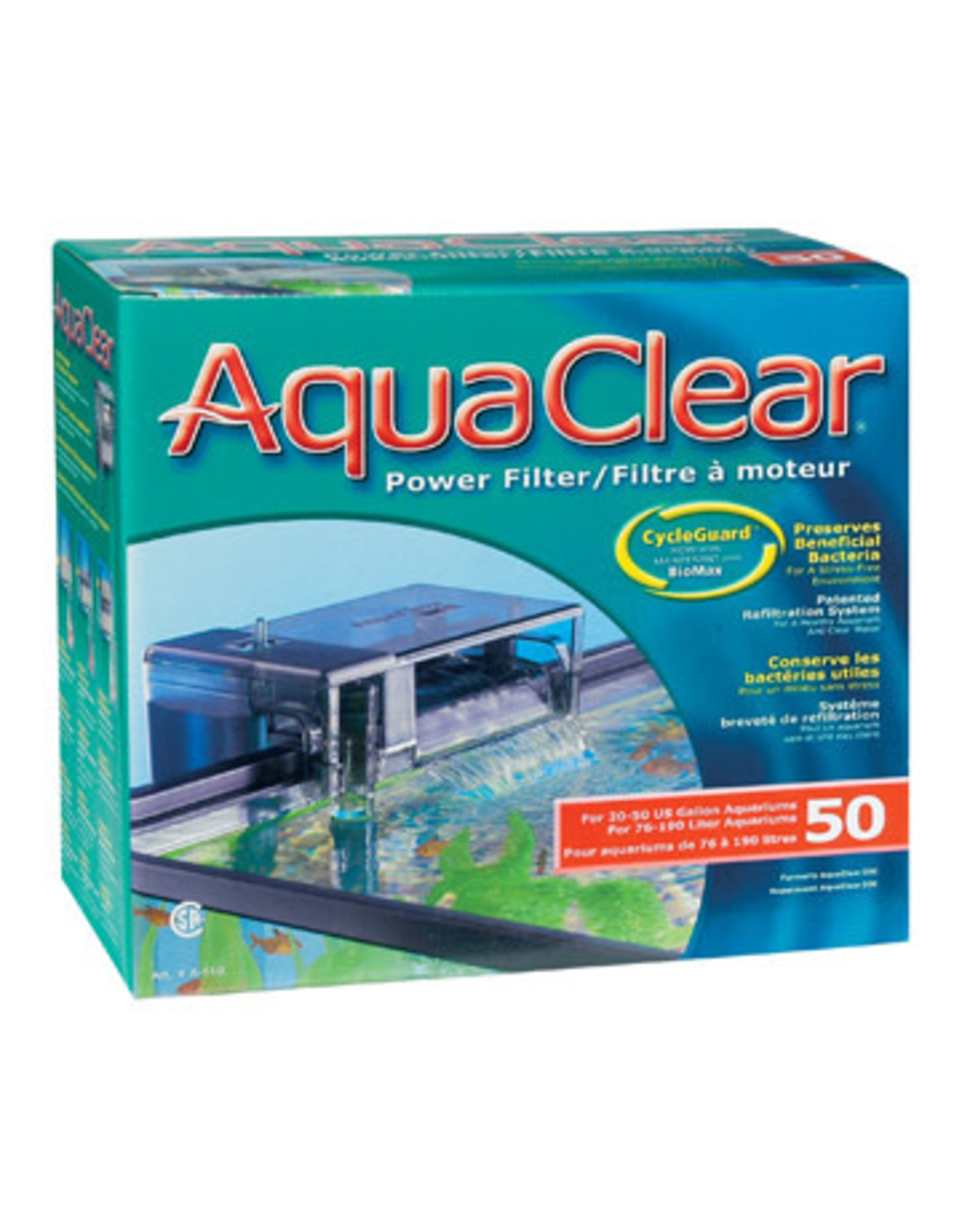 AquaClear AquaClear 50 Power Filter 189L (50 US Gal)