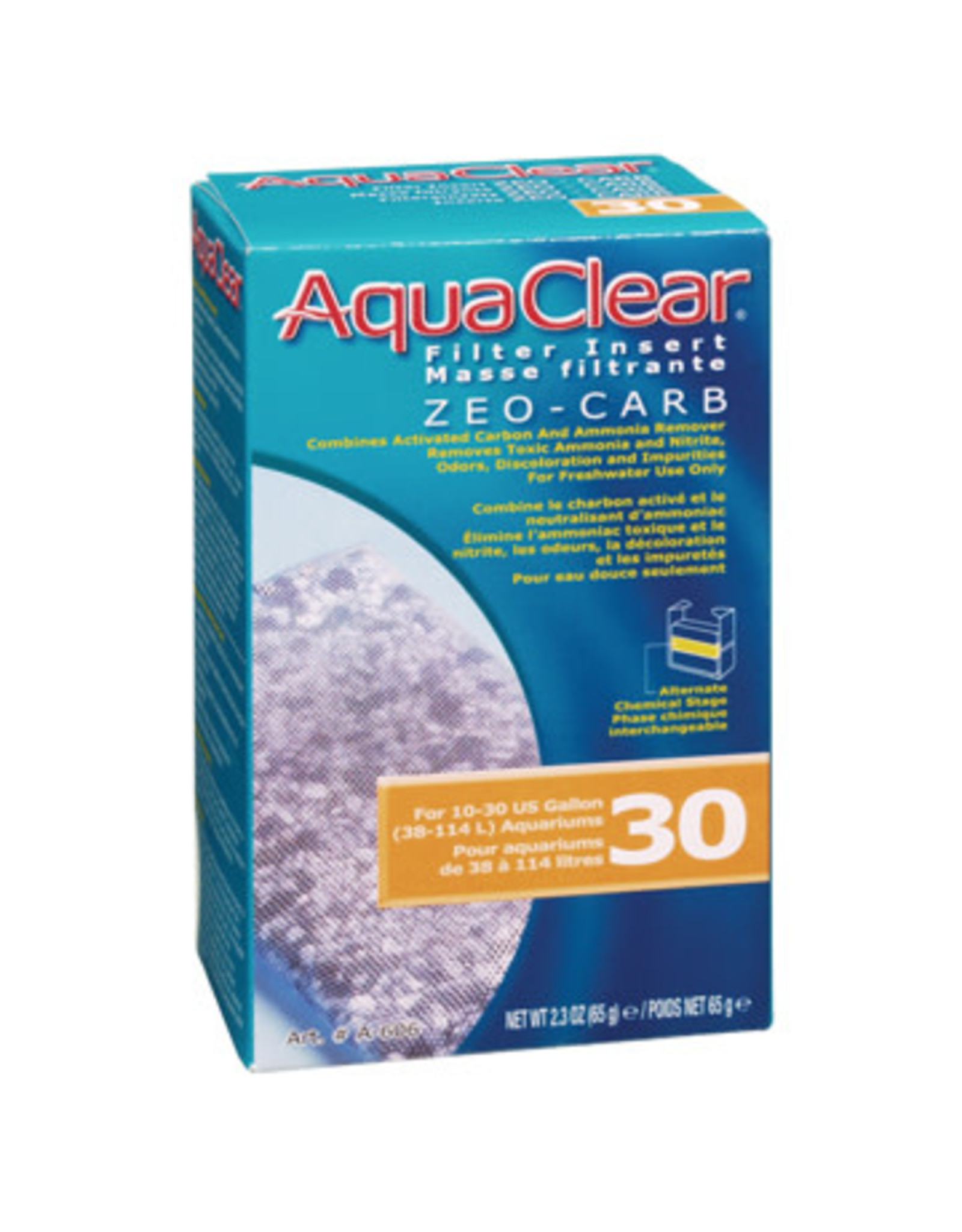 AquaClear AquaClear 30 Zeo-Carb Filter Insert 65g