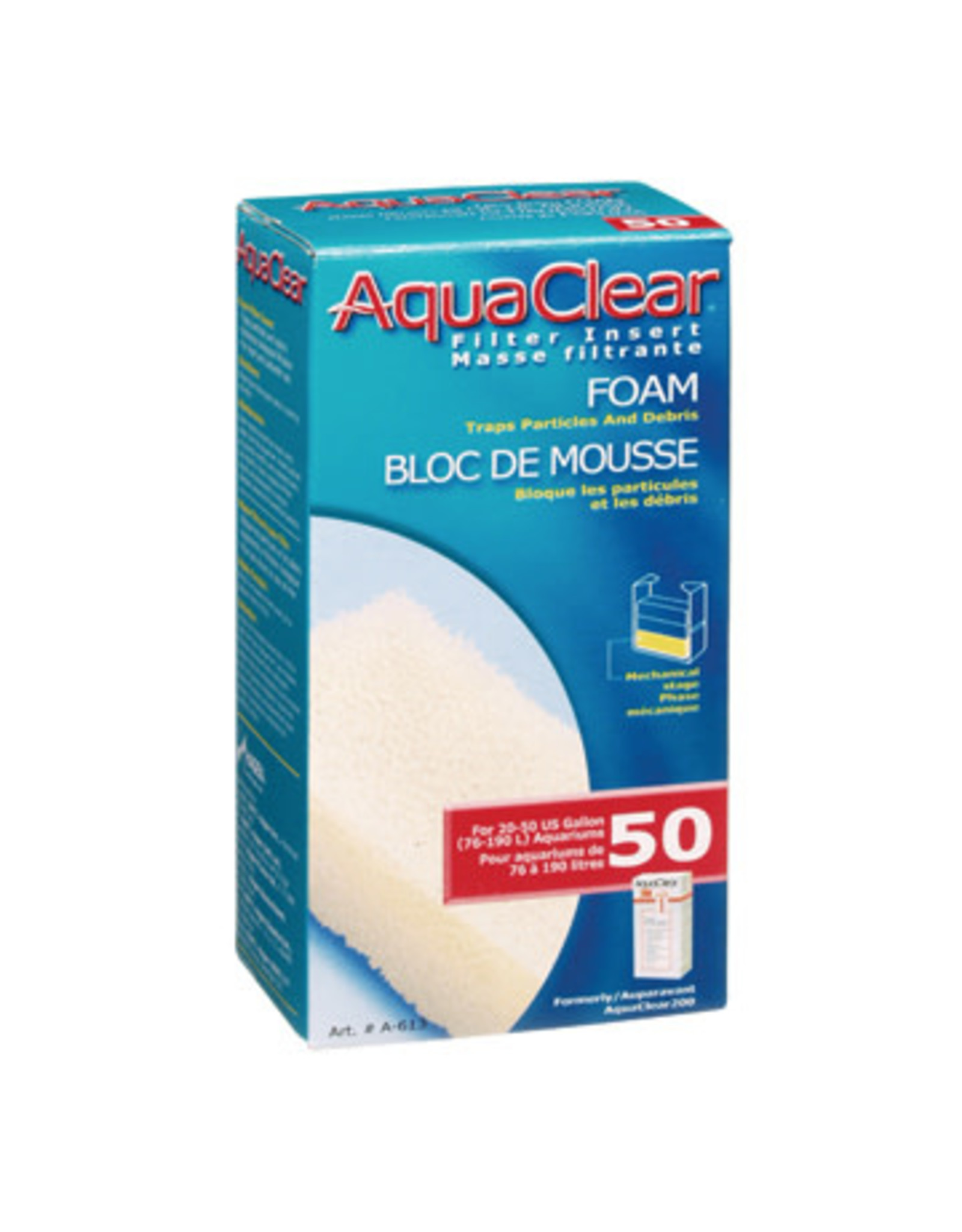 AquaClear AquaClear 50 Foam Filter Insert