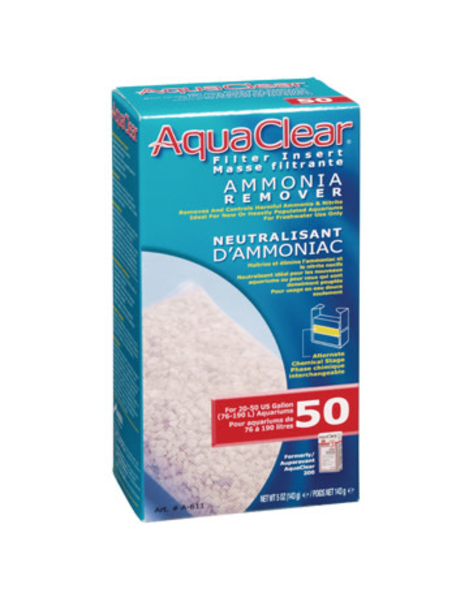AquaClear AquaClear 50 Ammonia Remover Filter Insert 143g