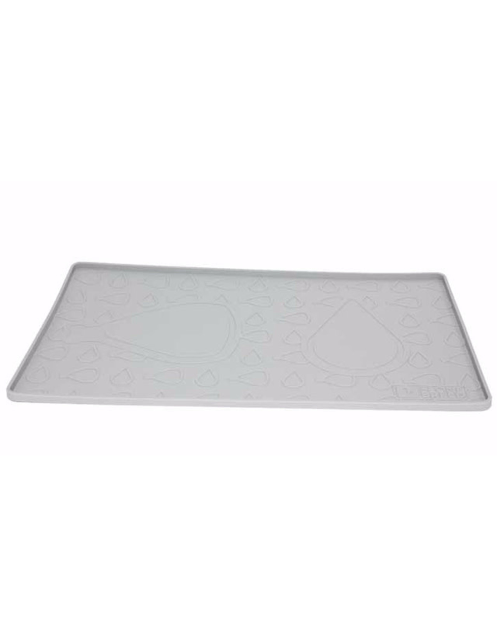Be One Breed Silicone Mat Moroccan Grey 19x11