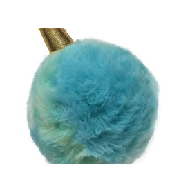 Fou Fou Dog Foufou Dog Fuzzy Unicorn Spikers - Blue