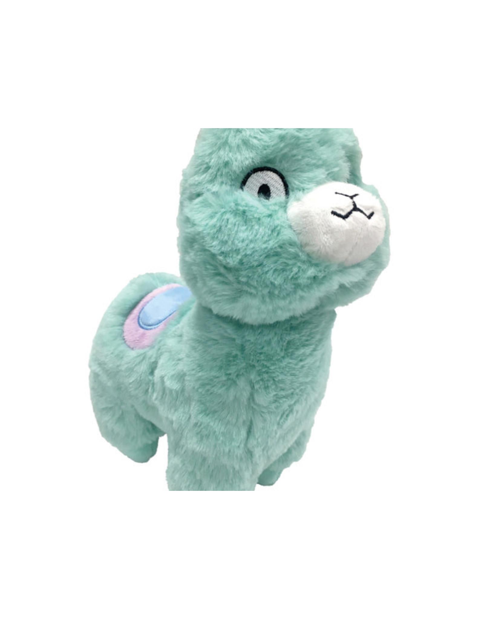 Fou Fou Dog Foufou Dog Pastel Pals Fuzzy Plush Llama Dog Toy
