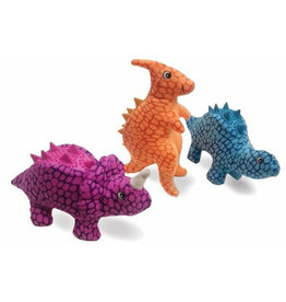 Spot Spot Plush Nubbins - Assorted Dino Dog Toy