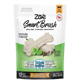 Zoe Zoe Smart Brush Bones for Dogs - Small - 17 pack - 340g