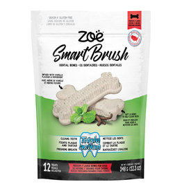 Zoe Zoe Smart Brush Bones for Dogs - Med/Lg - 12 pack - 348g