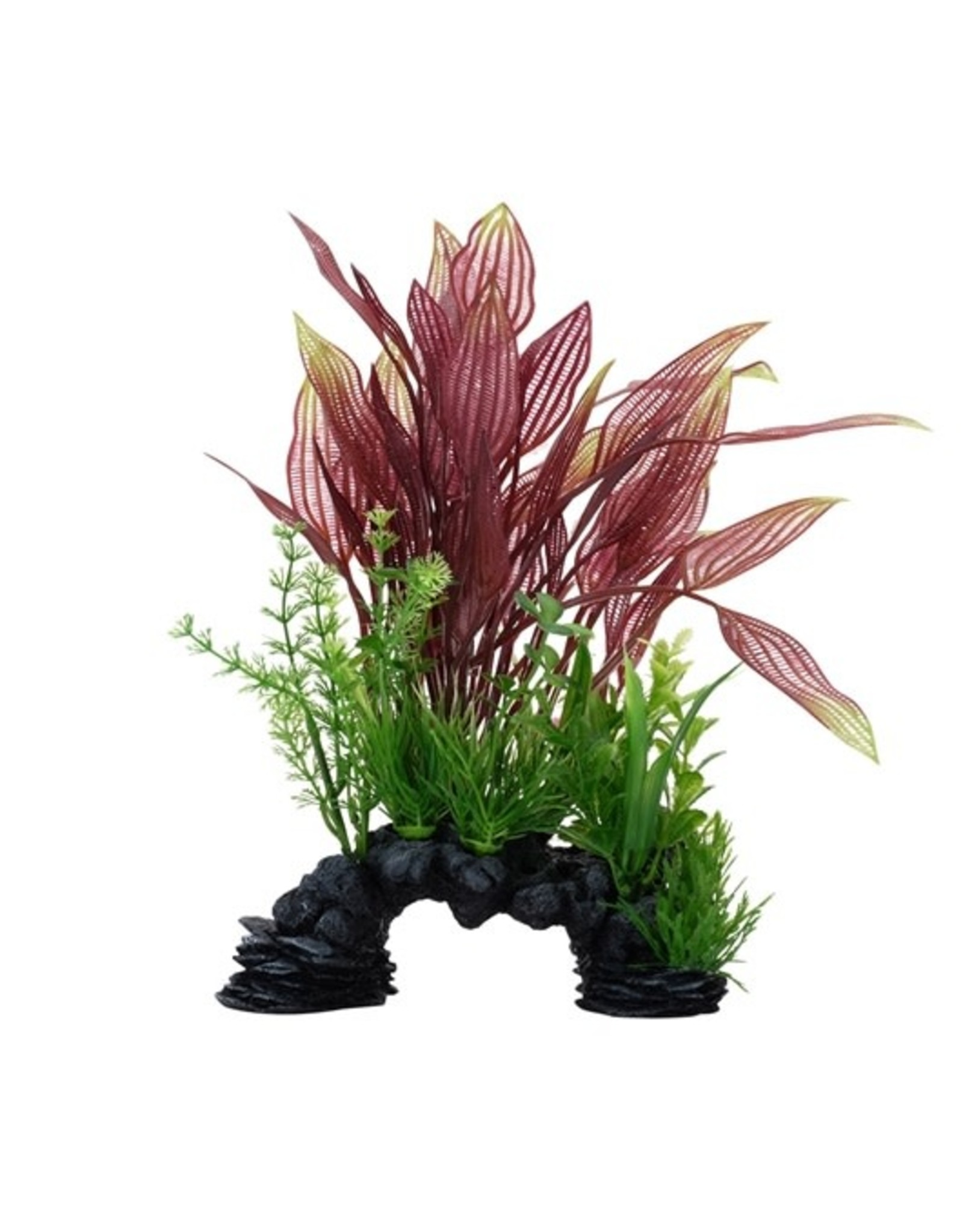 """Fluval Fluval Red Lace Plant, 10"""""""