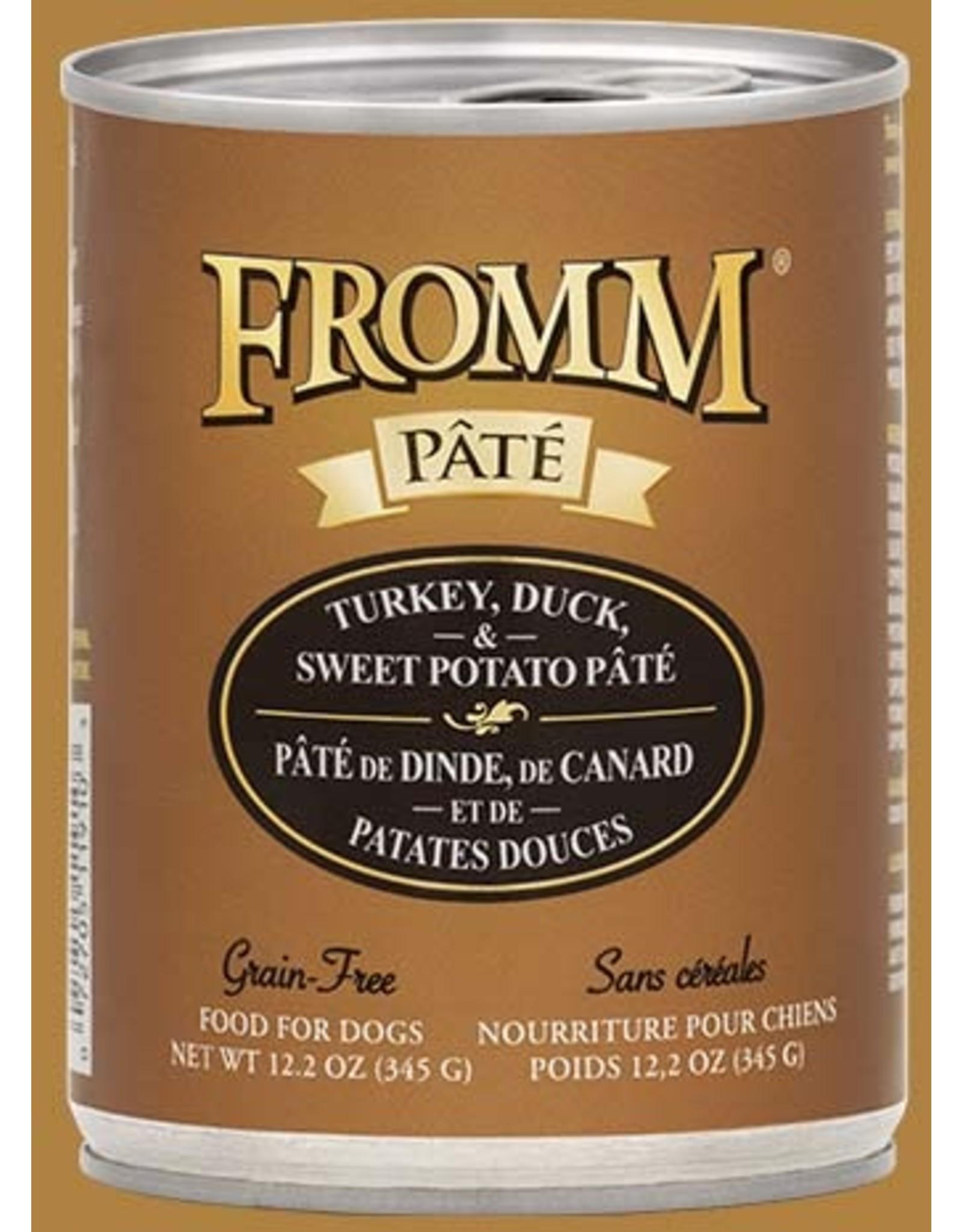 Fromm Fromm Gold G FTurkey, Duck & Sweet Potato Pate Wet Food