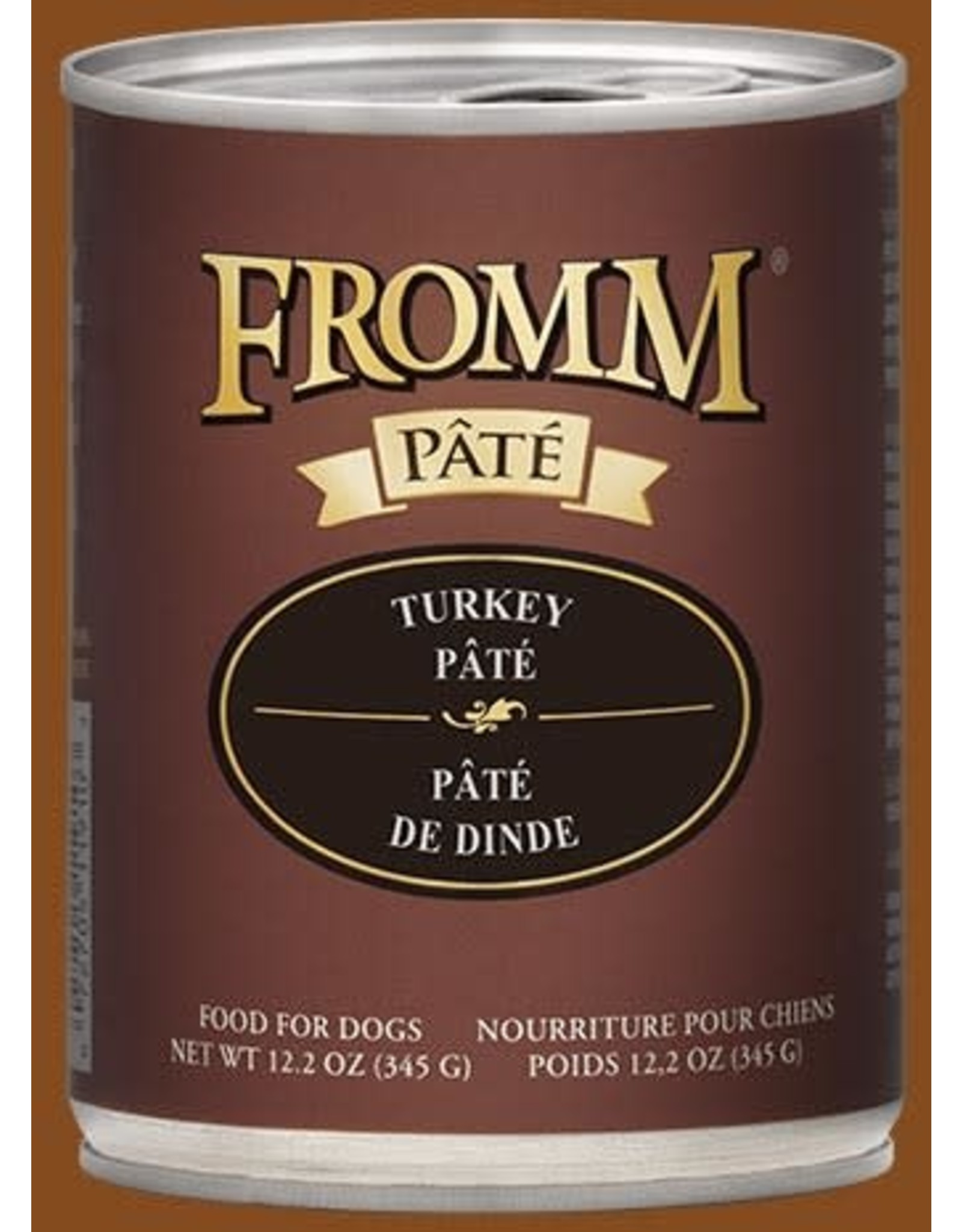 Fromm Gold Turkey Pate Wet Food