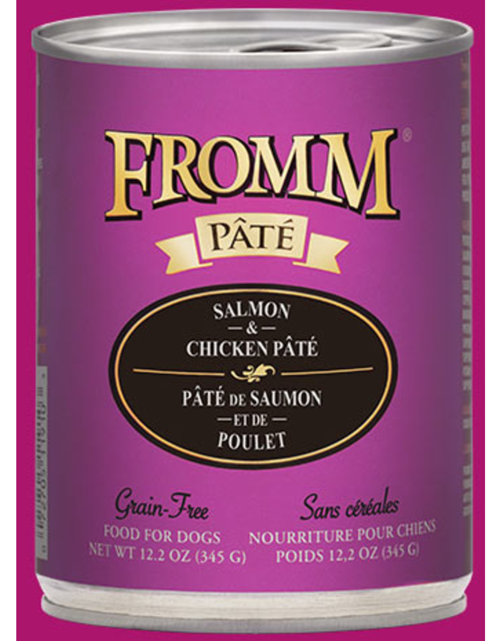 Fromm Fromm Gold Grain Free Salmon & Chicken Pate Wet Food