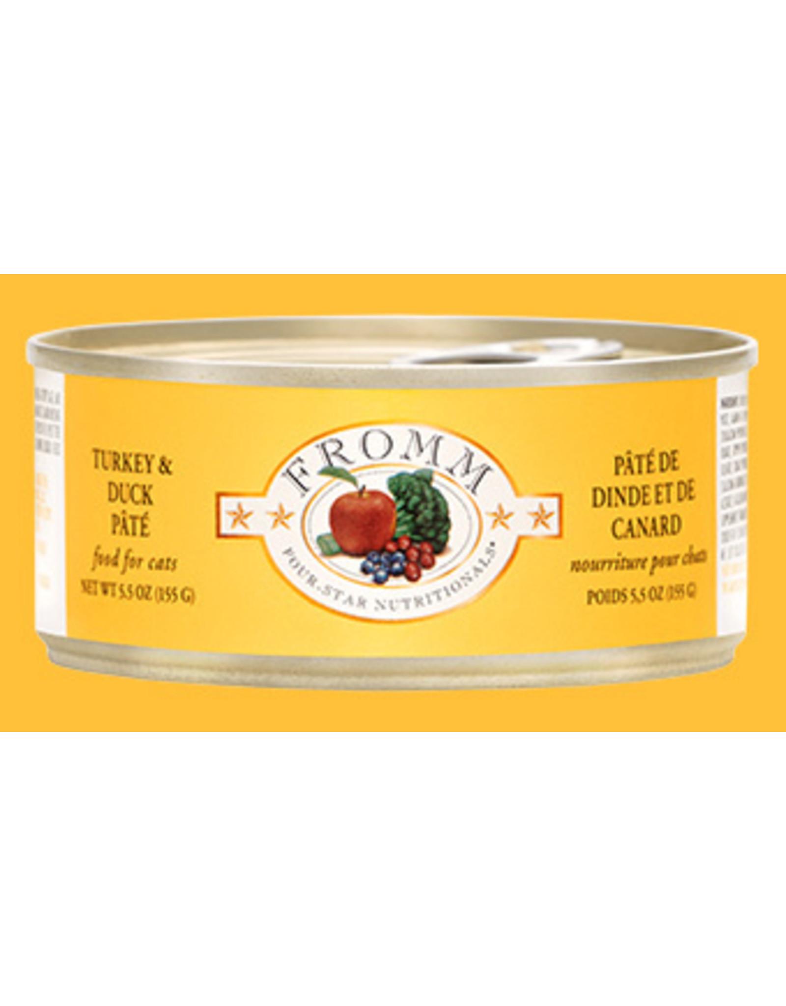 Fromm Fromm Four Star Grain Free Turkey & Duck Pate Wet Cat Food