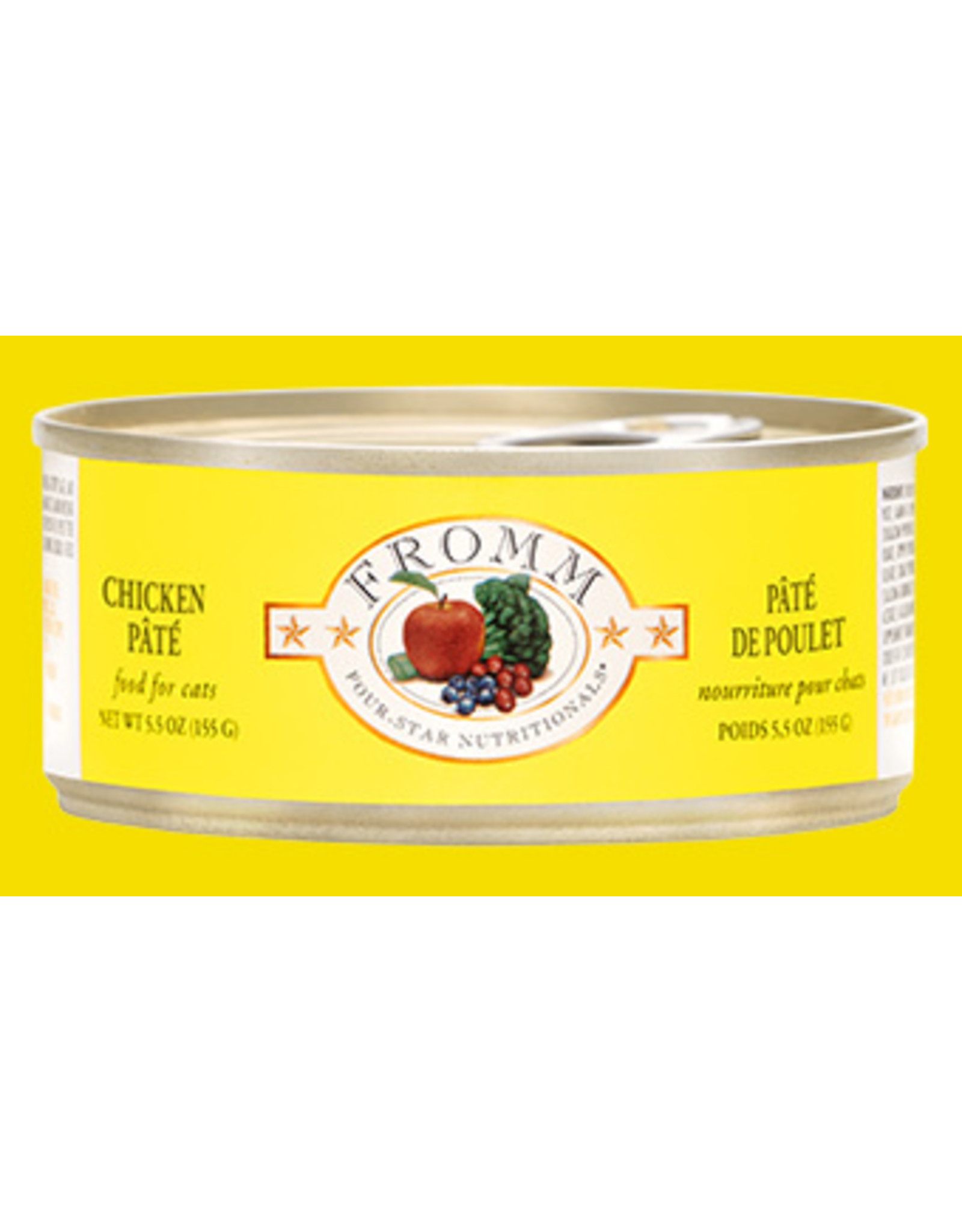 Fromm Fromm Four Star Grain Free Chicken Pate Wet Cat Food