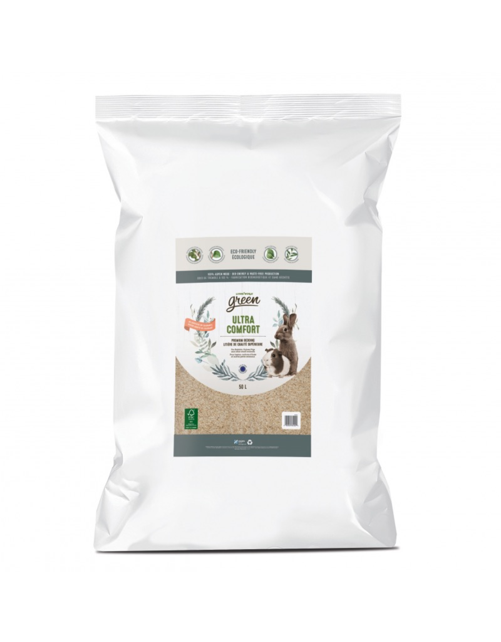 Living World Ultra Comfort Bedding, 50L Bulk Bag