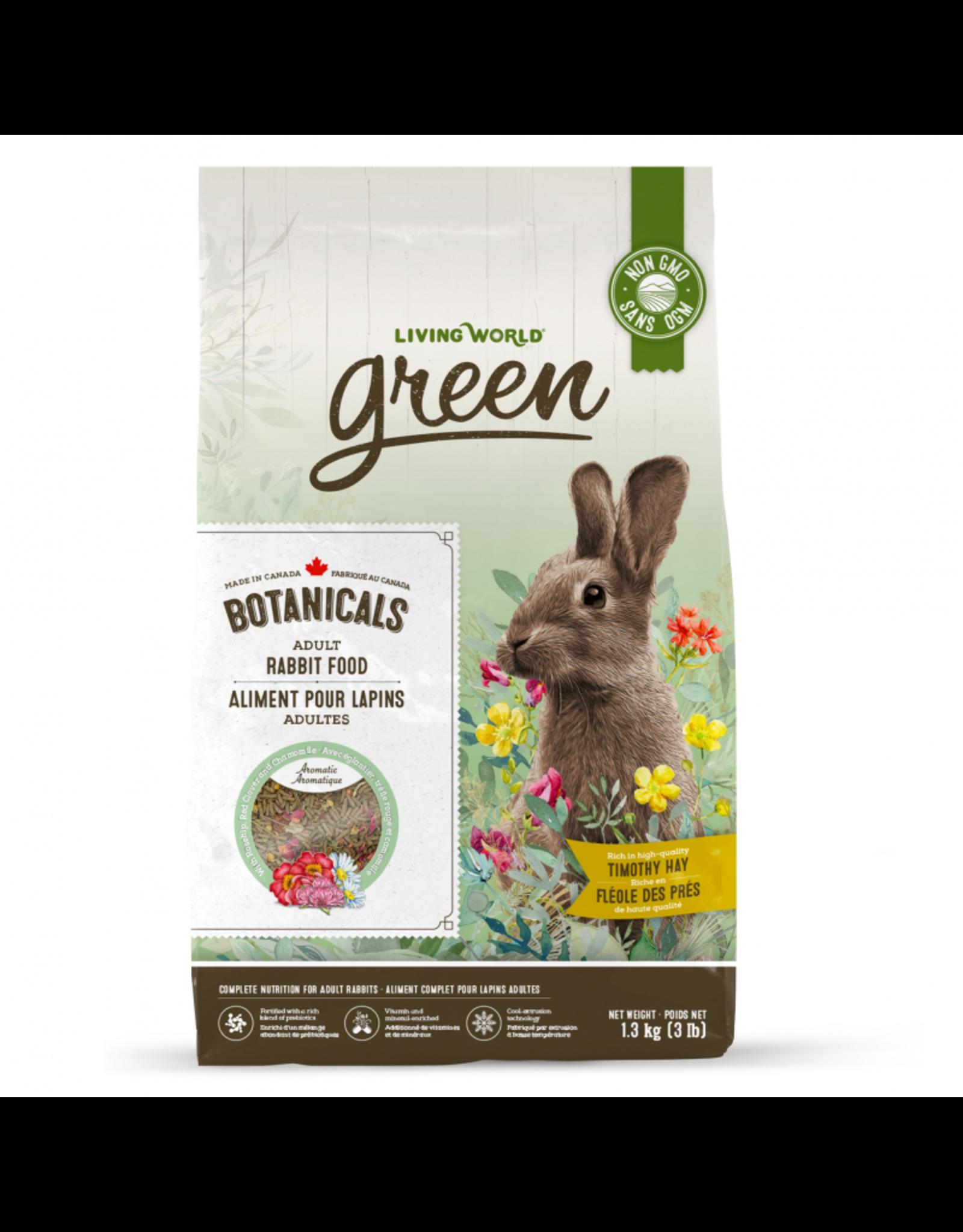 Living World Botanicals Adult Rabbit Food, 1.3 kg (3 lb)