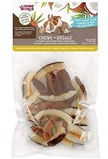 Living World Living World Small Animal Chews - Dried Coconut Slices - 45 g (1.5 oz)