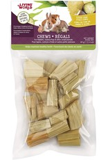 Living World Living World Small Animal Chews - Sugarcane Stalk Cubes - 40 g (1.4 oz)