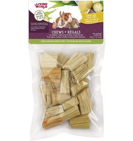 Living World Living World Small Animal Chews - Sugarcane Stalk Cubes - 40 g (1.4 oz)