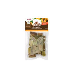 Living World Living World Small Animal Chews, Papaya Stalk Cubes, 20 g