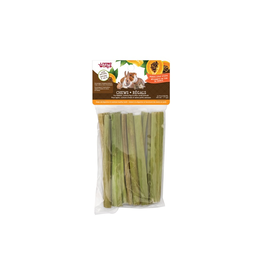 Living World Living World Small Animal Chews - Papaya Stalk Sticks - 10 pieces