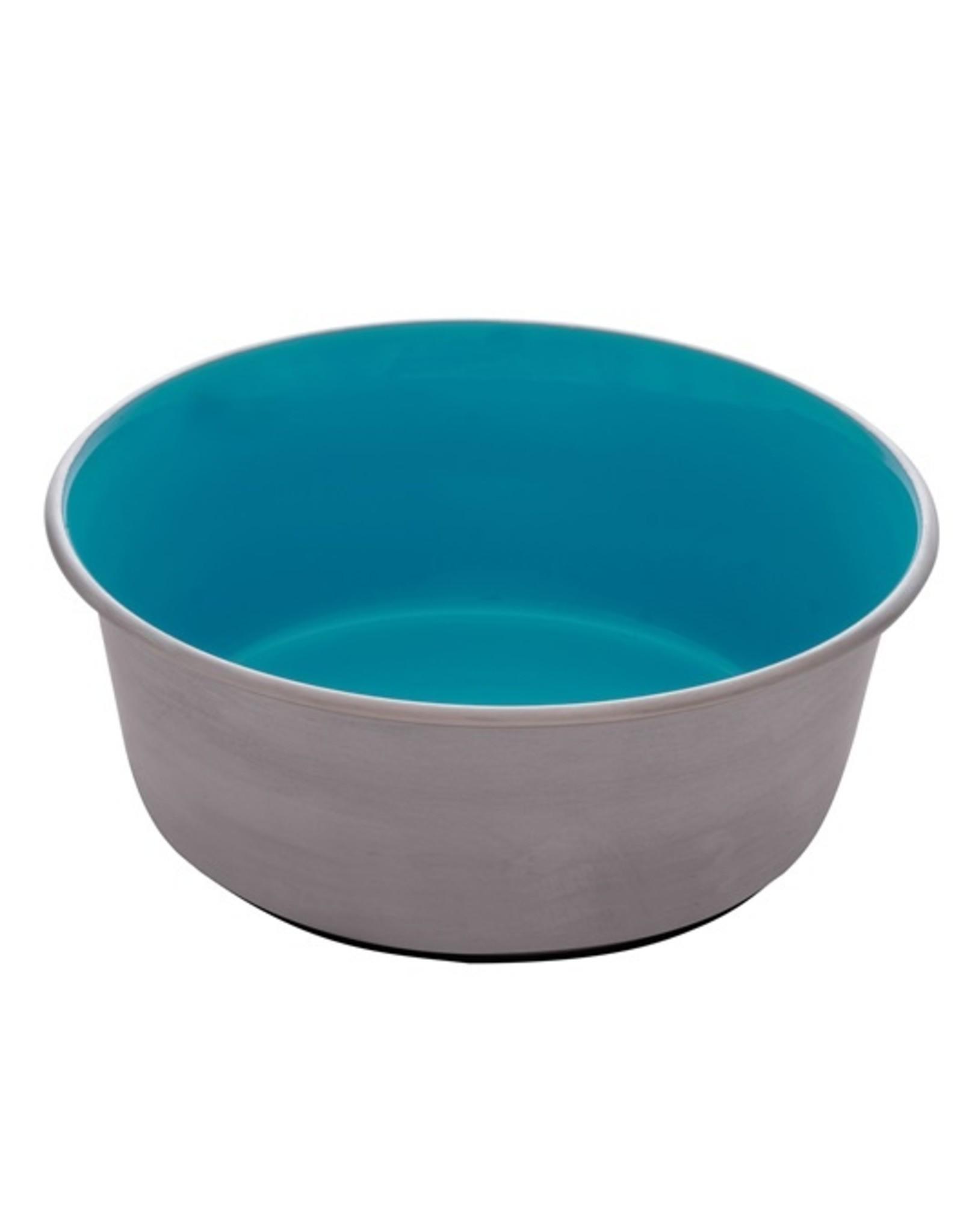 DogIt Stainless Steel Non-Skid Bowl Blue 1150ml
