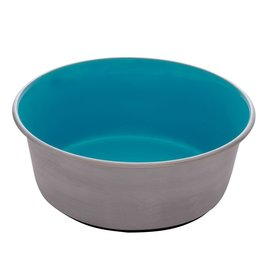 DogIt Stainless Steel Non-Skid Bowl Blue 560ml