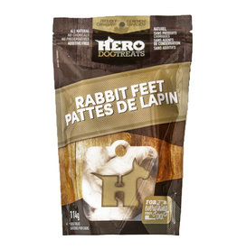 Hero Dehydrated Rabbit Feet 114g