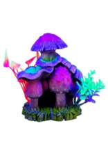 Marina Marina iGlo Mushroom House with Plants - 6""