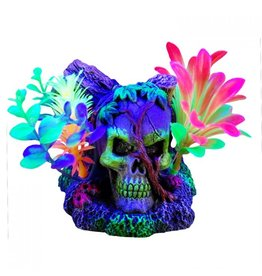 Marina Marina iGlo Skull with Vines & Plants - 3""