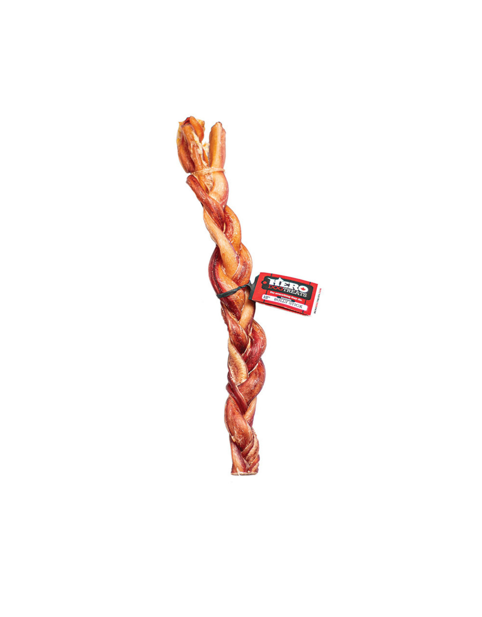 Hero Dehydrated Braided Beef Pizzle Stick 12""